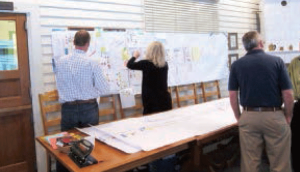 Figure 7 Executives begin mapping out company processes