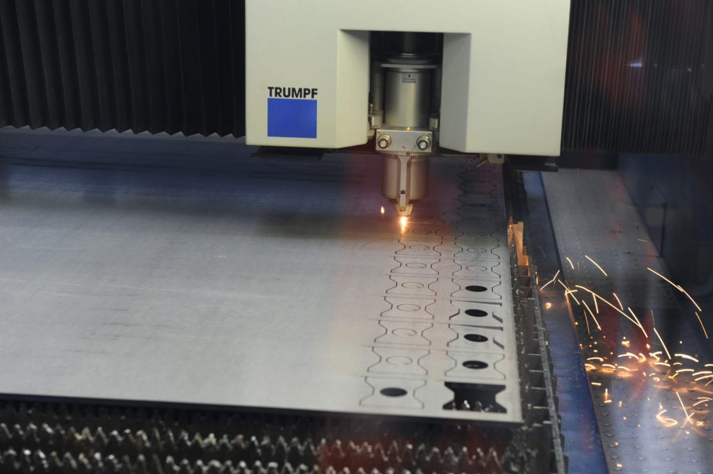 Trumpf Laser Cut